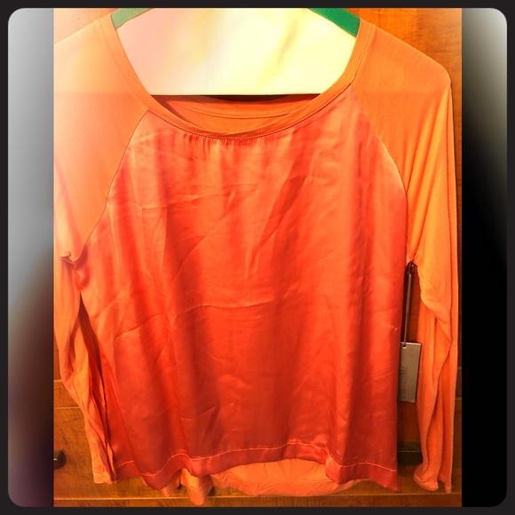 Jennifer Lopez Tops - Jennifer Lopez Autumn Rose Shirt TOP - size large